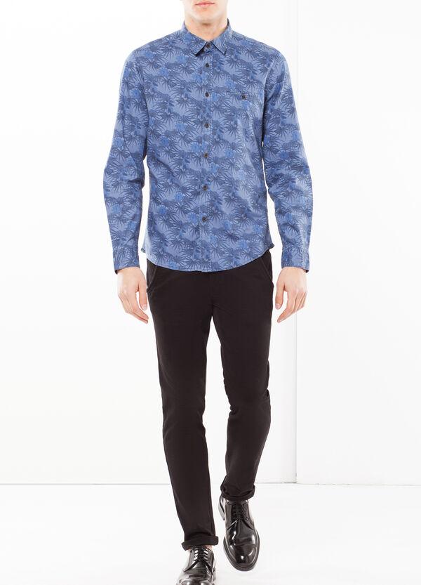 Camicia popeline stampato | OVS