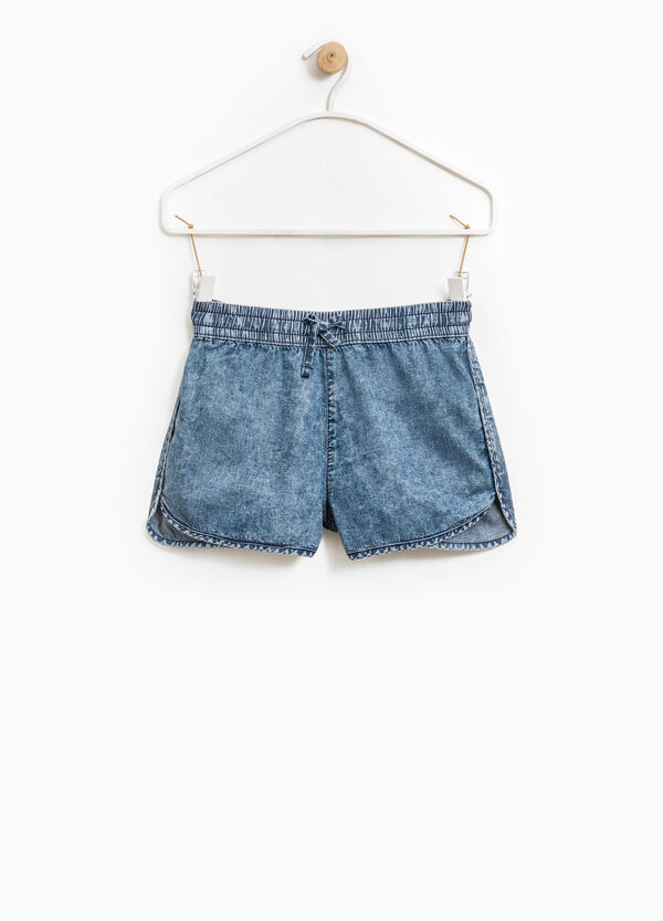 Shorts di jeans con coulisse | OVS