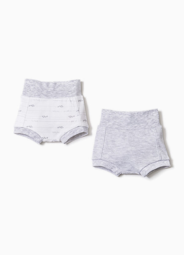 Two-pack briefs in 100% cotton | OVS