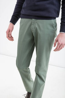 Rumford stretch trousers, Green, hi-res