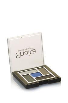 Palette ombretti composta da cinque colori dai finish diversi: mat, satin, pearly e metal. Crea il tuo look mixando effetti diversi., Blue, hi-res