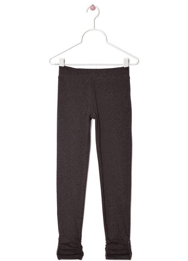 Studded stretch leggings | OVS