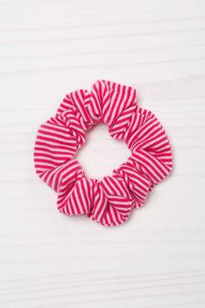 Striped pattern hair band, Pink, hi-res