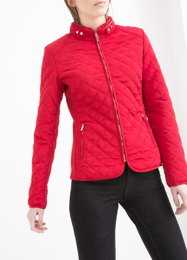 Quilted jacket with pockets | OVS