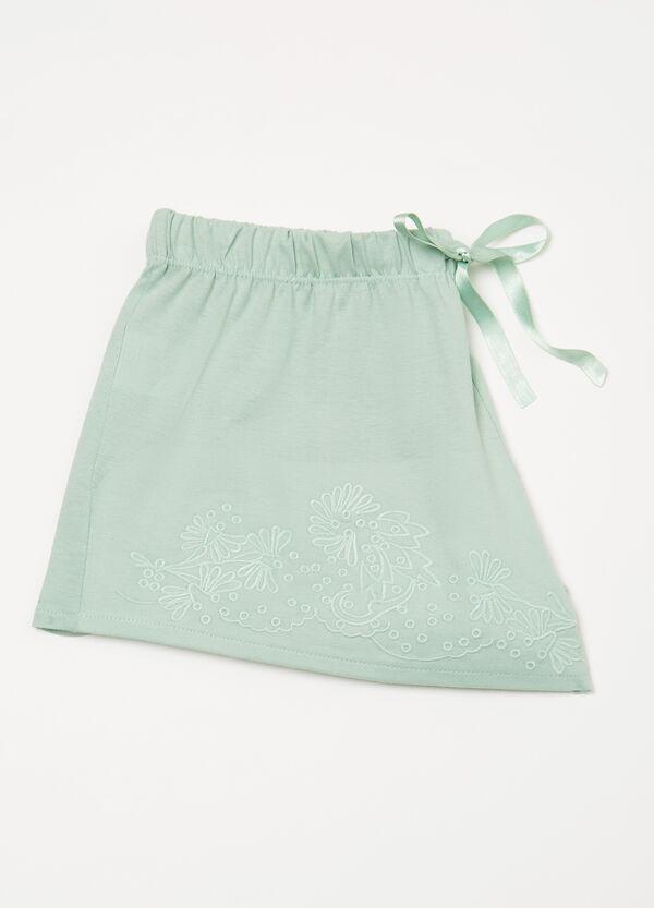 Embroidered pyjama shorts | OVS