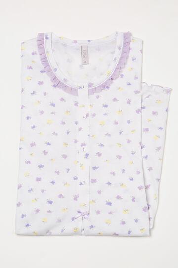 Printed cotton nightshirt