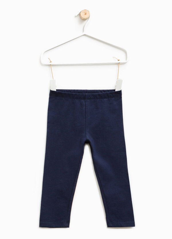 Stretch trousers with elasticated waist   OVS