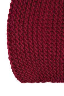 Cappello a cuffia tricot, Grigio melange, hi-res