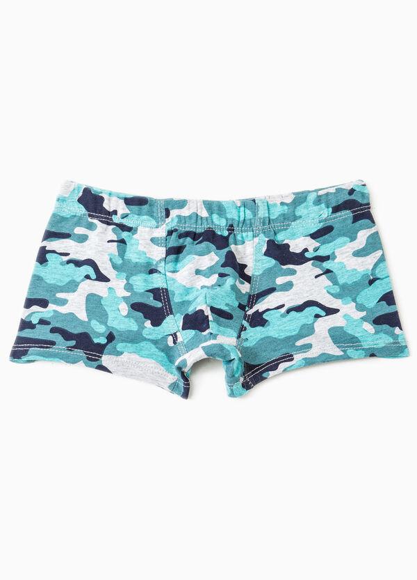 Boxer cotone stampa camouflage | OVS