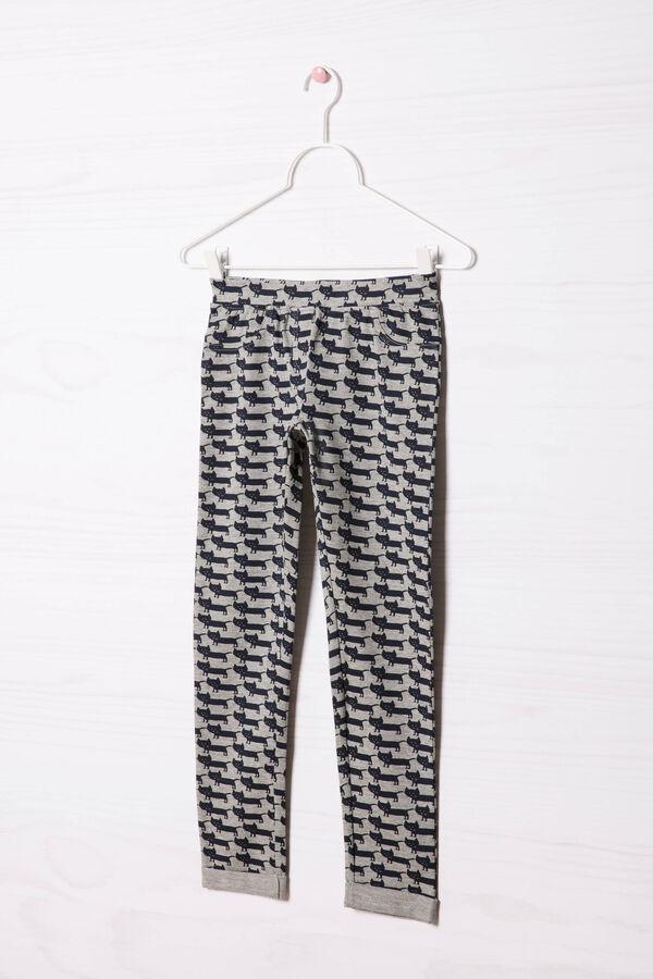 Printed stretch gym pants | OVS