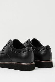 Studded brogues, Black, hi-res