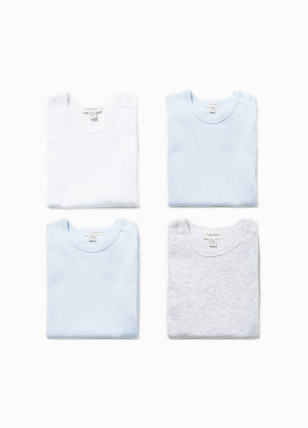Four-pack bodysuits in 100% cotton | OVS