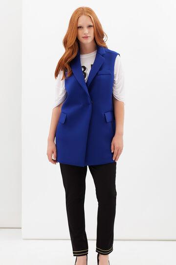 Curvyglam waistcoat, Blue, hi-res