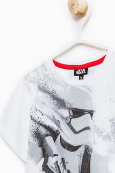 Star Wars print cotton T-shirt, Optical White, hi-res
