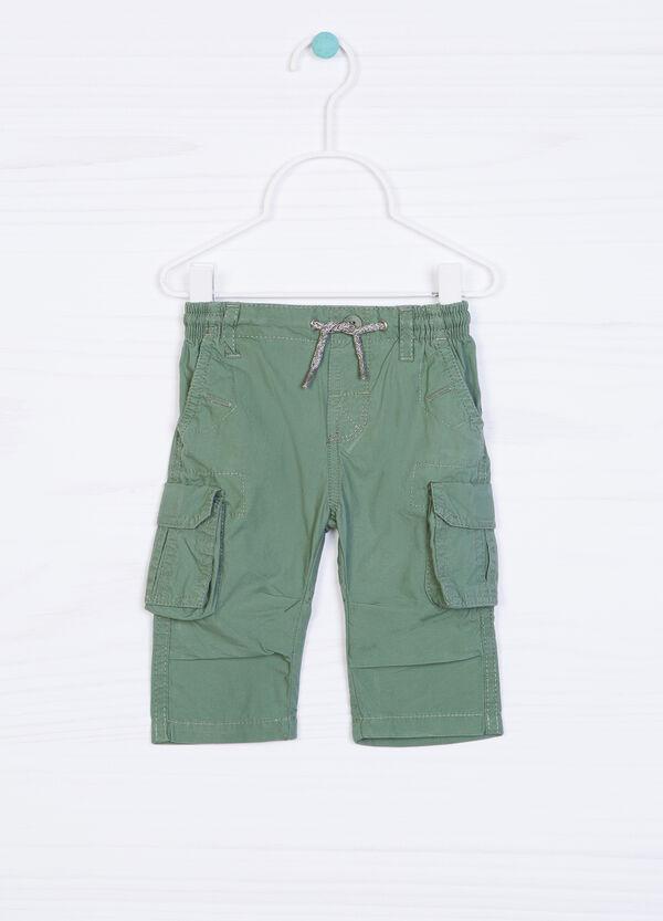 Pantaloni puro cotone con tasche | OVS