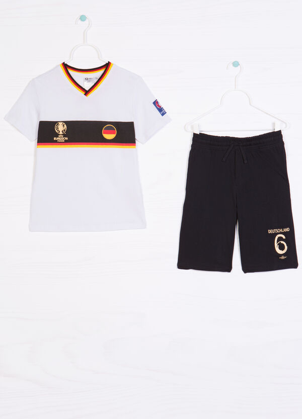 Cotton outfit with UEFA Euro 2016 print   OVS