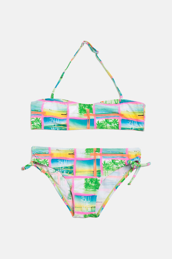 Stretch bikini with all-over print | OVS
