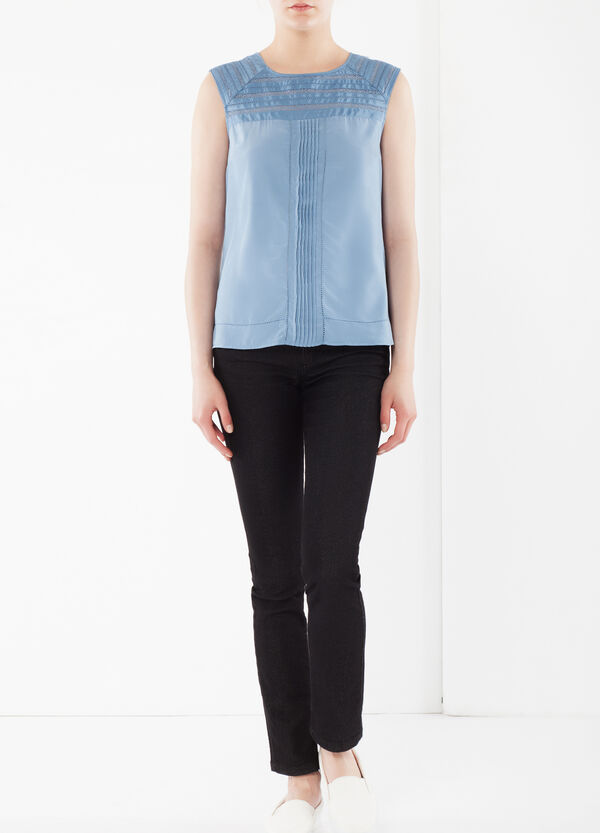Blouse with openwork details | OVS