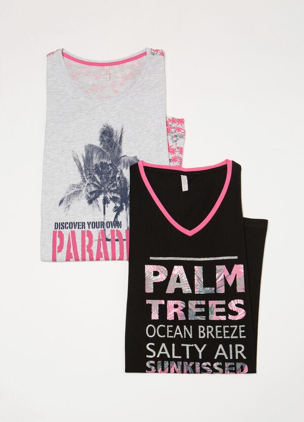 Two-pack printed nightshirts | OVS