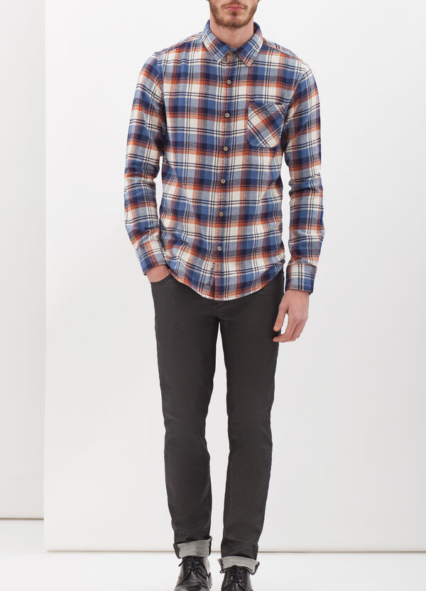 G&H check flannel shirt | OVS