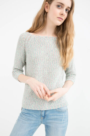 Plain colour pullover, Multicolour, hi-res