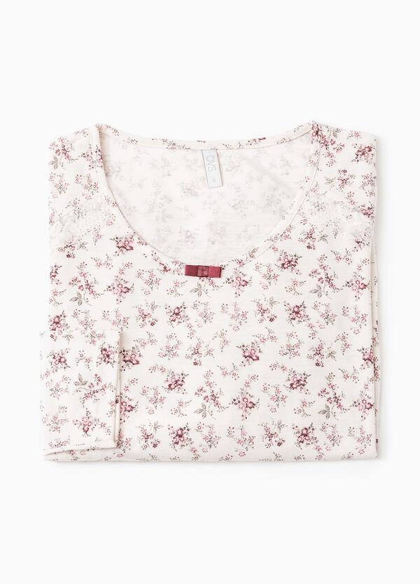 Floral pyjama top | OVS
