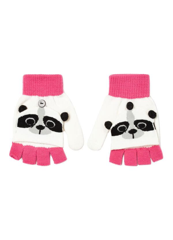 Fingerless gloves with mitten | OVS