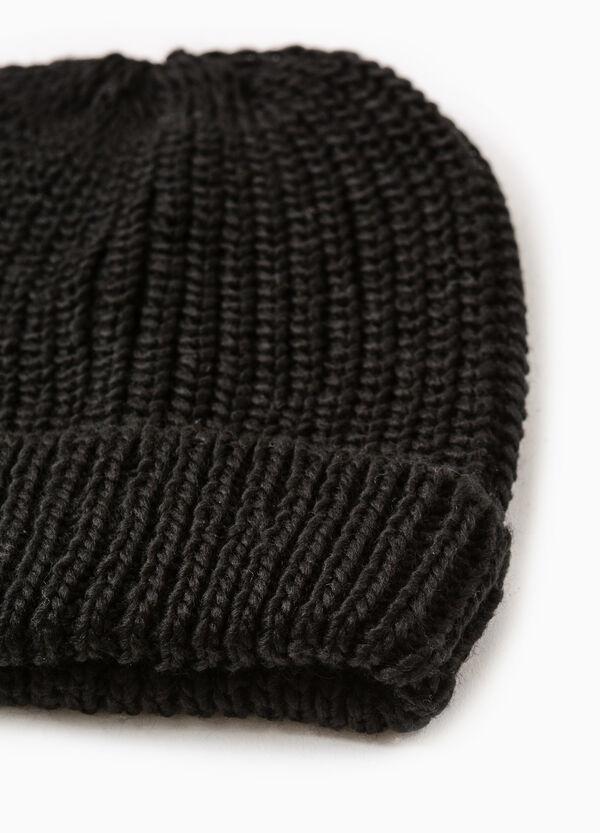 Cappello a cuffia tricot tinta unita | OVS
