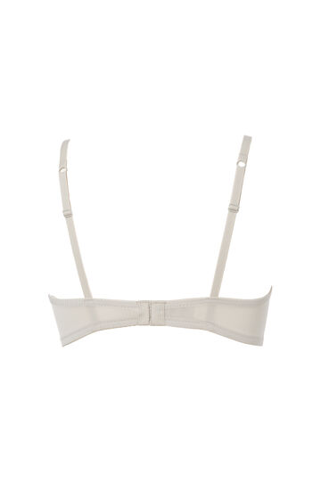 Padded triangular bra, Light Grey, hi-res