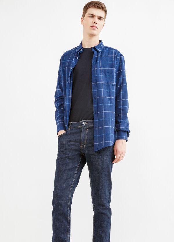 Camicia casual a quadri button down | OVS