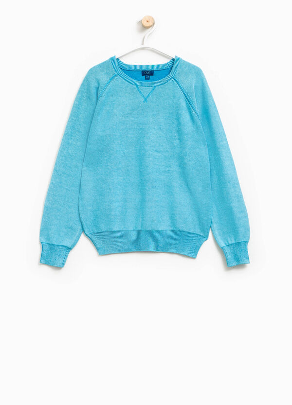 100% cotton knitted pullover | OVS