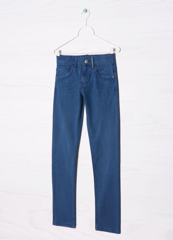 Plain stretch jeans | OVS