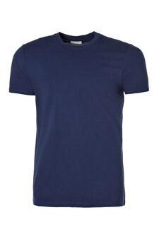 Crew neck underwear T-shirt, Blue, hi-res