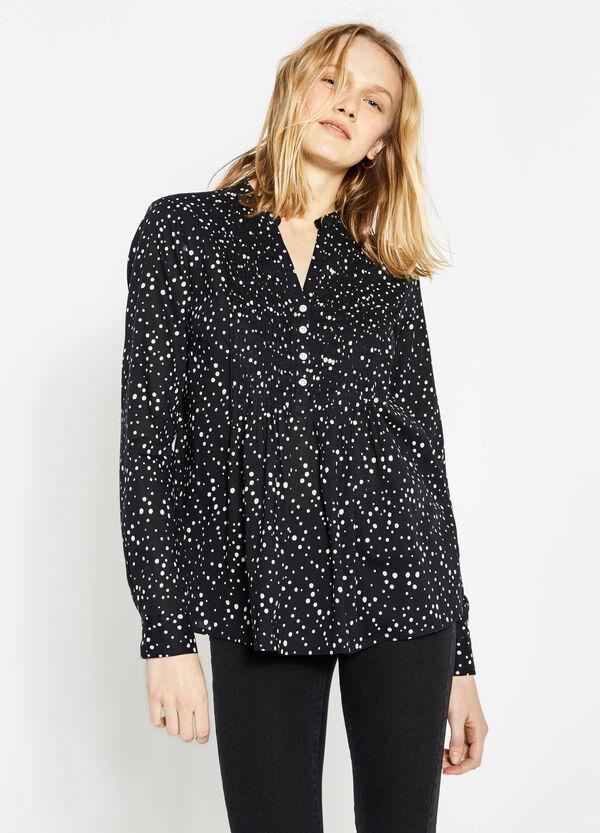 Blusa plissettata con pieghe | OVS
