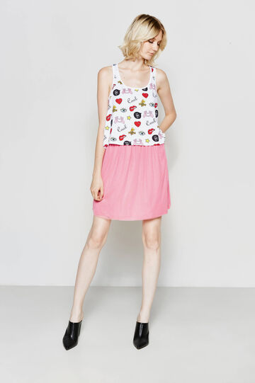 100% cotton patterned top