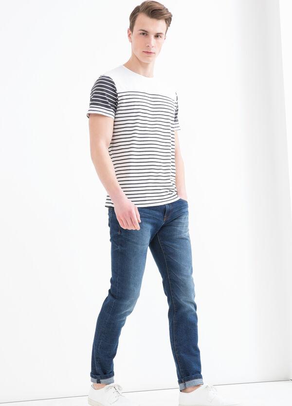 T-shirt puro cotone a righe | OVS