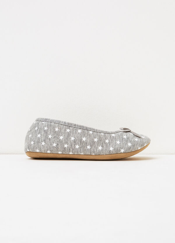 Ballerina slippers with star pattern | OVS