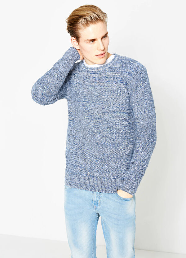Pullover mélange girocollo | OVS