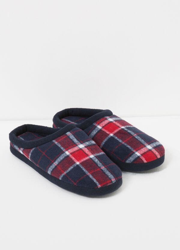 Pantofole fantasia tartan | OVS