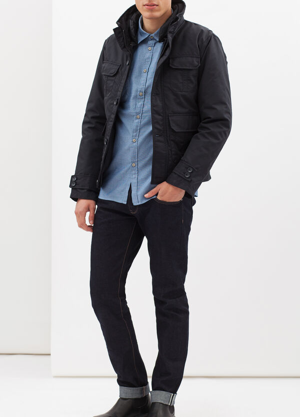 G&H plain jacket with pockets | OVS