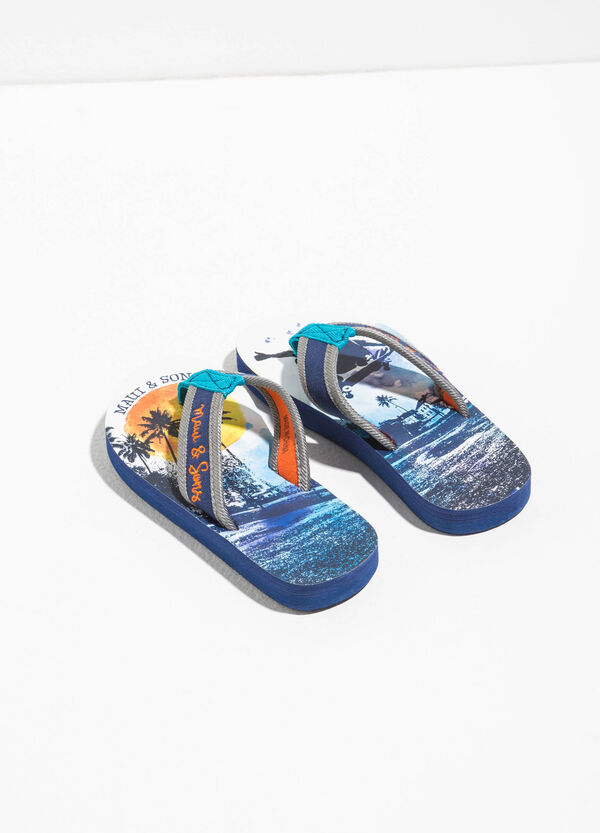 Maui and Sons printed thong sandal | OVS