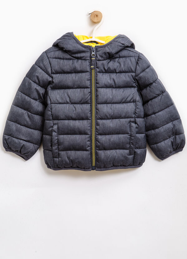 Down jacket with hood and zip | OVS