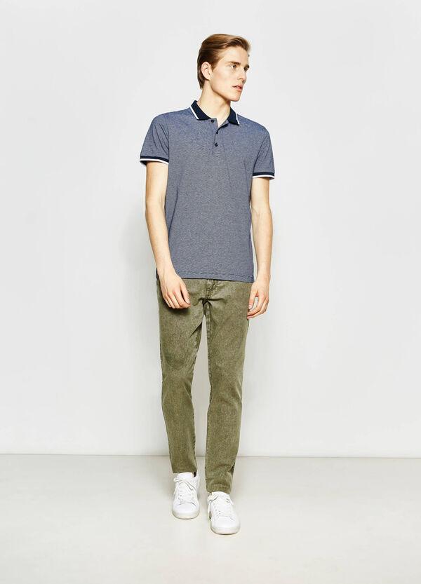 Regular-fit, camouflage chino Bermuda shorts | OVS