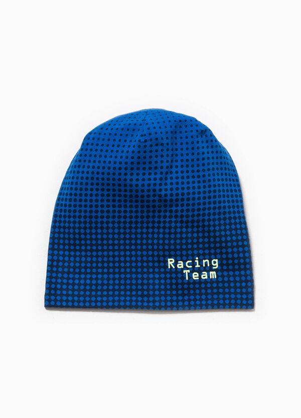 Cappello a cuffia a pois con stampa | OVS