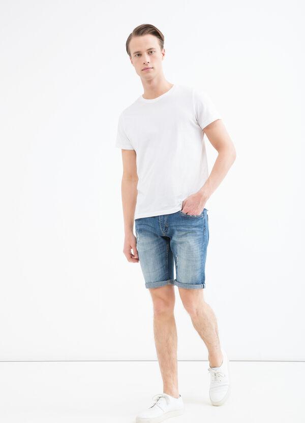 Bermuda di jeans skinny fit stretch | OVS