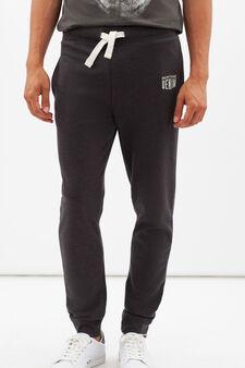 Pantaloni tuta G&H regular fit, Grigio cenere, hi-res