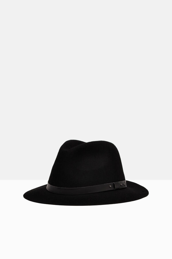 Solid colour wool hat | OVS