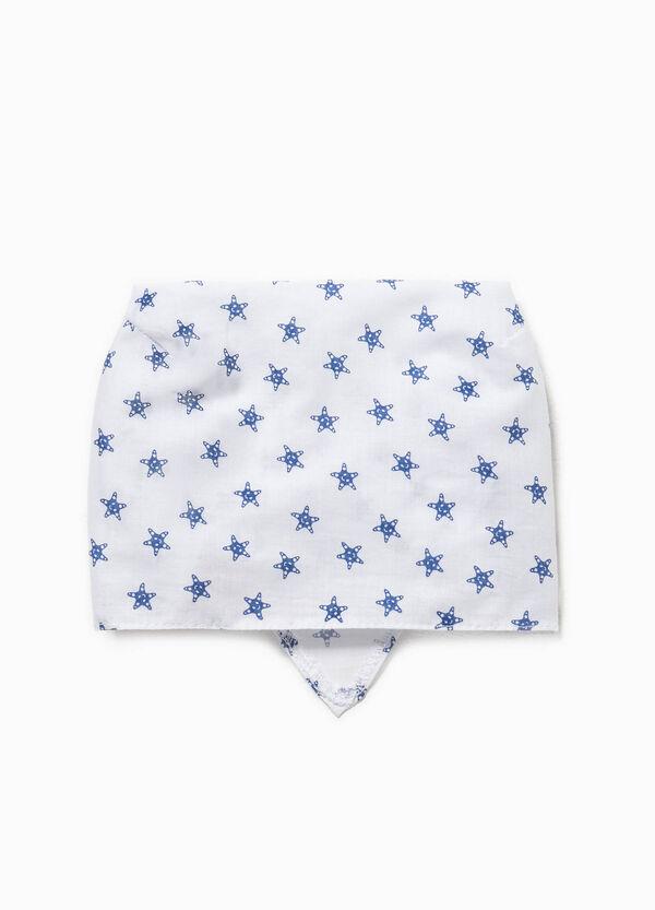 Cotton bandana with star pattern | OVS