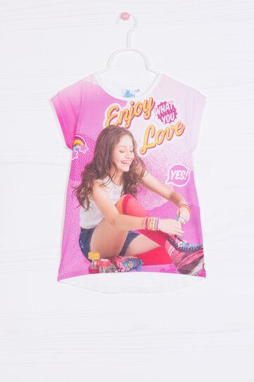 T-shirt Soy Luna in cotone stretch
