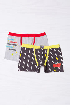 2-pack patterned boxer shorts, Multicolour, hi-res